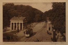 Düsseldorf (NRW) Ratinger Tor ( Strassenbahn - Tram) 1922 - Duesseldorf