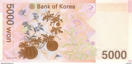 South Korea P.55  5000 Won 2006   Unc - Korea, South