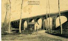 76 - TOUFFREVILLE - Viaduc Du Chemin De Fer Sur La Vallée De L'Hyère. - France