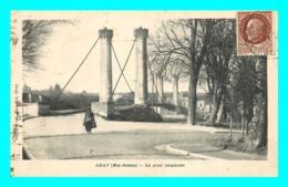 A819 / 295 70 - GRAY Pont Suspendu - Gray