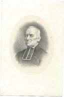 Doodsprentje MORTIERS Carolus: ° Wetteren, 1813, + Ronse, 1896. Ere-kannunik Van St-Baafs - Religión & Esoterismo