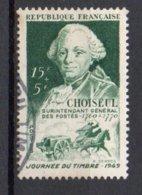 FRANCE N°828  OBLITERE 20% De La Cote Y&T 1.40 € - Used Stamps