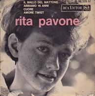 RITA PAVONE - EP - 45T - Disque Vinyle - Il Ballo Del Mattone - 86329 - Discos De Vinilo