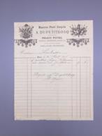 PARIS, MAISON PAUL STOPIN, A.DUPETITBOSQ, 1876 - France