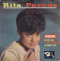 RITA PAVONE - EP - 45T - Disque Vinyle - Coeur - 70533 - Discos De Vinilo