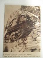 Croisière Jaune (Etape Entre Ghillam Et Godaî ) Citroen Autochenille Et Passage Difficile  - Coupure De Presse De 1931 - Tracteurs