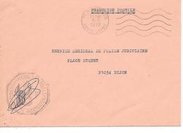 GENDARMERIE NATIONALE - Montbozon - ( 70 ) - Marcophilie (Lettres)