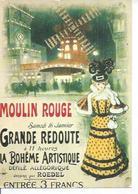 13 - PARIS - MOULIN ROUGE ( Déssin: ROEDEL ) - Arrondissement: 18