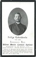Doodsprentje Gesneuveld: SPILOES Alfons Maria: ° Mechelen, 1888, + Yzer, 12 Maart 1916. Almoezenier Priester - Religión & Esoterismo