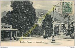 BADEN BADEN .  Kaiserallee . - Baden-Baden