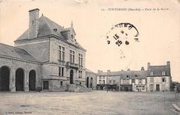 ¤¤  -  PONTORSON    -   Place De La Mairie        -  ¤¤ - Pontorson