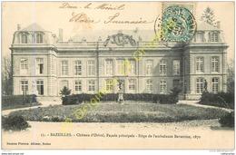 BAZEILLES .  Chateau D'Orival . Façade Principale . Siège De L'ambulance Bavaroise 1870 . - France