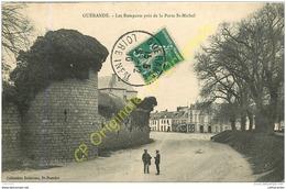 44.  GUERANDE . Les Remparts Près De La Porte St-Michel . - Guérande