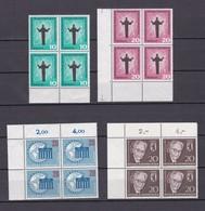 Berlin - 1958/61 - Michel Nr. 179/80+189+198 - Viererblock  - Postfrisch - Berlin (West)