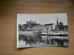 Bratislava Pozsony Kikoto Felszabadulas Ship - Slowakei
