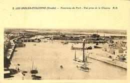 025 309- CPA - France - (85) Vendée - Les Sables D'Olonne - Panorama Du Port - Sables D'Olonne