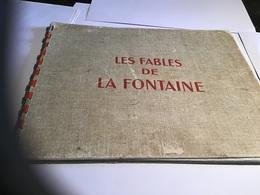 Les Fables De La Fontaine Dessin Animé En L'état   Table  Des Matières 1946 - Livres, BD, Revues