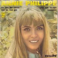 ANNIE PHILIPPE - EP - 45T - Disque Vinyle - Mes Amis Mes Copains - 437237 - Discos De Vinilo