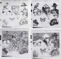 Mali 1998 BF 71. Série De 4 Films D'impression Offset. Baden-Powell, Papillons, Oiseaux, Minéraux, Scout, Champignon - Scouting
