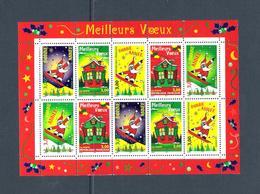 BLOC N° 21 - MEILLEURS VŒUX 1998 - PÈRE NOEL - Blocchi & Foglietti