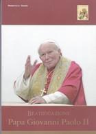 FOLDER FILATELICO BEATIFICAZIONE PAPA GIOVANNI PAOLO II 2011 - Pochettes