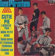 Les PIRATES - EP - 45T - Disque Vinyle - Cutie Pie - 211047 - Discos De Vinilo