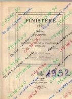 ANNUAIRE - 29 - Département Finistère - Année 1952 - édition Didot-Bottin - 124 Pages - Annuaires Téléphoniques