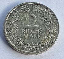 German Empire 2 Reichsmark 1927 (A) - [ 3] 1918-1933 : Weimar Republic