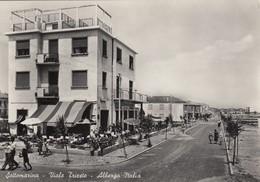 Veneto - Venezia - Sottomarina -Viale Trieste - Albergo Italia - F. Grande - Anni 50 - Bella Animata - Italie