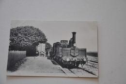 SAINT AUBIN SUR MER Calvados La Gare Train - Saint Aubin