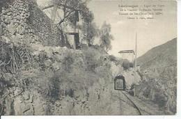 LANTOSQUE - LIGNE DU TRAM DE LA VESUBIE-St-MARTIN-VESUBIE TUNNEL DE Ste-CLAIRE - France