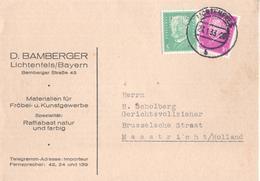 Duitsland Deutschland Germany - Perfin - B Bamberger Lichtenfels  Bayren - 1933 - Allemagne