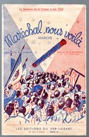 (chanson Petit Format) (Vichy Propagande)  MARECHAL NOUS VOILA 1941 (MPA PF 220) - Music & Instruments