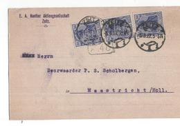 Duitsland Deutschland Germany - Perfin - Zeitz - EA Naether Aktiengesellaschaft  - 1922 - Unclassified