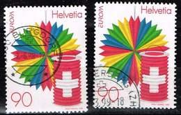 Schweiz 1998, Michel# 1654 O Europa: National Day (1 August) - Oblitérés
