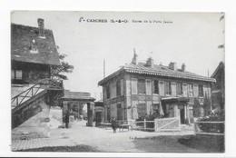 92   GARCHES  HARAS DE LA PORTE JAUNE  1917  BON ETAT    2 SCANS - Garches