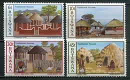 Botswana Mi# 295-8 Postfrisch MNH - Traditional Houses - Botswana (1966-...)