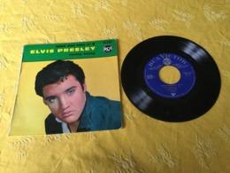 1 Disque Vinyle 45 Tours D'Elvis Presley - Rock
