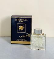 """Miniature """"LE ROY SOLEIL Homme"""" De SALVADOR DALI  Eaude Toilette 5 Ml Dans Sa Boite - Miniatures Men's Fragrances (in Box)"""