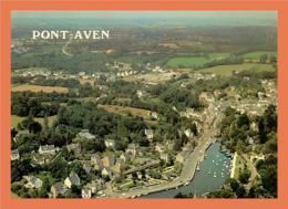 29 - PONT AVEN - Vue D'ensemble - La France Vue Du Ciel ...  /  /  CPM - France