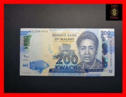 MALAWI 200 Kwacha 1.1.2012  P. 60 A  UNC - Malawi
