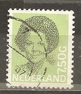 Pays-Bas Netherlands 1981 Beatrix Gld 7.50 Obl - Period 1980-... (Beatrix)