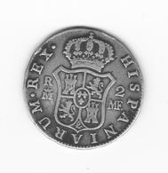 2 Réales  1799 Madrid  MF  TTB - Collections