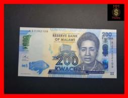 MALAWI 200 Kwacha 1.1.2013  P. 60 B  UNC - Malawi
