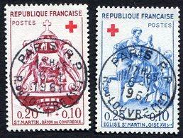 France N°1278/9 Oblitéré, Qualité Superbe - Gebraucht