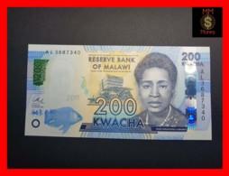 MALAWI 200 Kwacha 1.1.2016  P. 60 C  UNC - Malawi