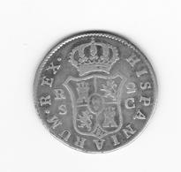 Rare 2 Réales  1788 Séville C  TTB - Collections