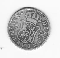 Rare 2 Réales  1778 Madrid PJ  TB/TTB - Collections