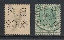 STRAITS SETTLEMENTS, Perfin B. M. &Co (b) - Straits Settlements
