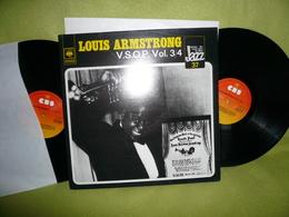 Louis Armstrong - 33t X2 Vinyles - V.S.O.P.Vol.3/4 - Jazz